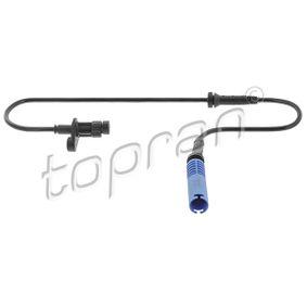 BMW E39 Touring 528i ABS Sensor TOPRAN 500 983 (528i 2.8 Benzin 1998 M52 B28 (286S2))