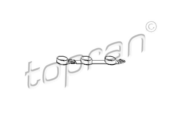 TOPRAN  501 328 Dichtung, Zylinderkopfhaube