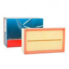 Air Filter Length: 240mm, Width: 140mm, Height: 57mm, Length: 240mm with OEM Number 1654 6BN 701