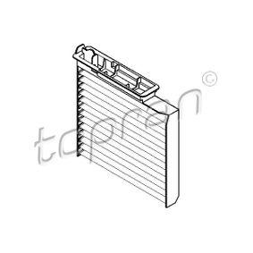 Filter, interior air 700 462 Note (E11, NE11) 1.5 dCi MY 2009