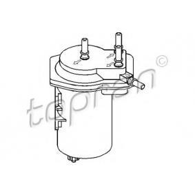 Fuel filter with OEM Number 1640 04U 105