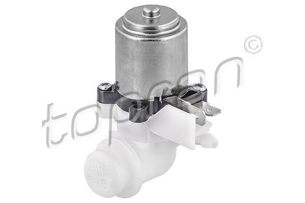 TOPRAN  720 283 Waschwasserpumpe, Scheibenreinigung Pol-Anzahl: 2-polig