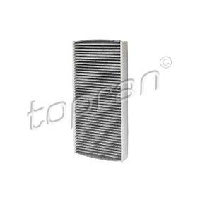 Filter, Innenraumluft Länge: 318mm, Breite: 152mm, Höhe: 40mm mit OEM-Nummer 6441EJÿ