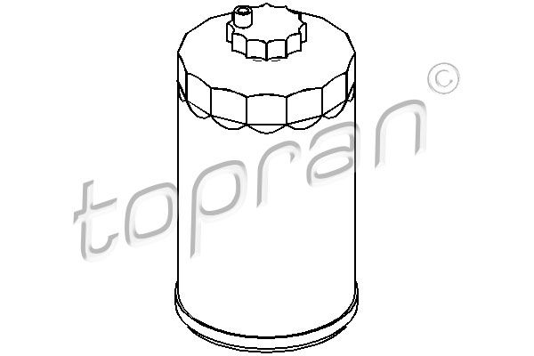 TOPRAN  721 018 Kraftstofffilter