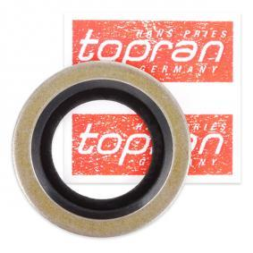 Seal, oil drain plug Ø: 24mm, Thickness: 2mm, Inner Diameter: 16mm with OEM Number 77 00 266 044