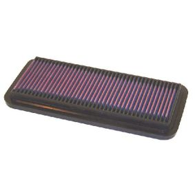 K&N Filters  33-2065 Luftfilter Länge: 297mm, Breite: 135mm, Höhe: 22mm