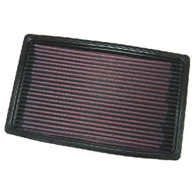 K&N Filters  33-2068 Luftfilter Länge: 275mm, Breite: 167mm, Höhe: 27mm