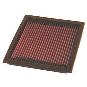 K&N Filters  33-2073 Luftfilter Länge: 224mm, Breite: 208mm, Höhe: 24mm