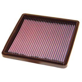 K&N Filters  33-2076 Luftfilter Länge: 233mm, Breite: 232mm, Höhe: 32mm