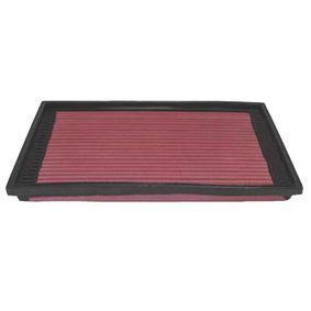 K&N Filters  33-2079 Luftfilter Länge: 305mm, Breite: 181mm, Höhe: 29mm