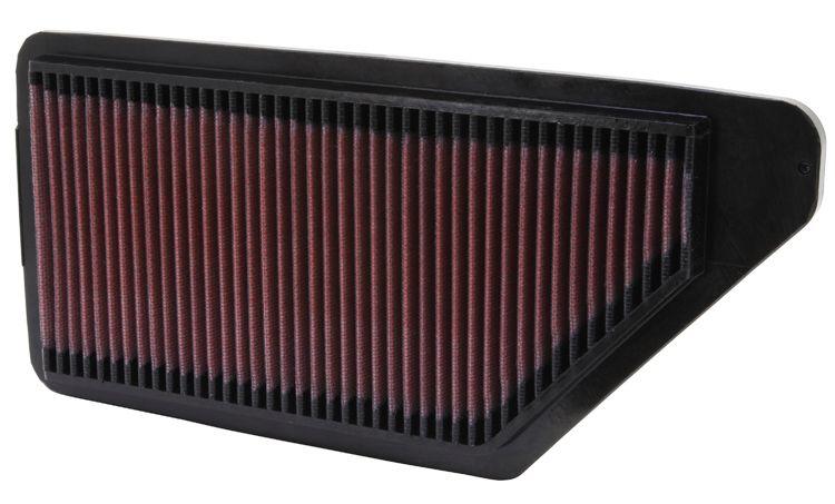 K&N Filters  33-2090 Въздушен филтър дължина: 333мм, ширина: 152мм, височина: 22мм, дължина: 333мм