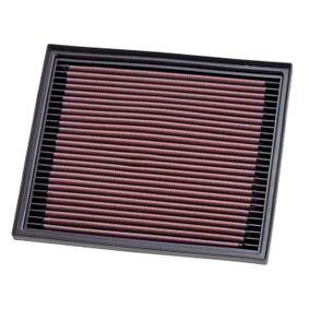 K&N Filters  33-2119 Luftfilter Länge: 238mm, Breite: 203mm, Höhe: 30mm
