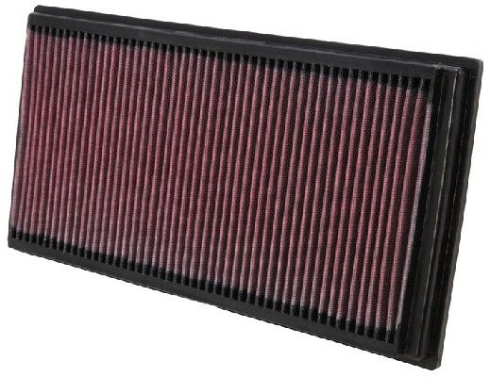 K&N Filters  33-2128 Air Filter Length: 356mm, Width: 183mm, Height: 32mm, Length: 356mm