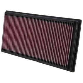 K&N Filters  33-2128 Filtro de ar Comprimento: 356mm, Largura: 183mm, Altura: 32mm
