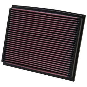 K&N Filters Luftfilter 33-2209 für AUDI A4 (8E2, B6) 1.9 TDI ab Baujahr 11.2000, 130 PS