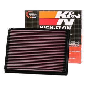 K&N Filters  33-2212 Luftfilter Länge: 286mm, Breite: 203mm, Höhe: 29mm
