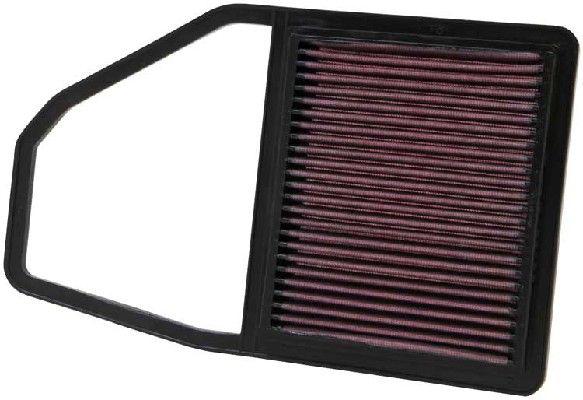 K&N Filters  33-2243 Filtro de aire Long.: 195mm, Ancho: 170mm, Altura: 21mm