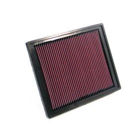 K&N Filters  33-2337 Luftfilter Länge: 297mm, Breite: 233mm, Höhe: 25mm