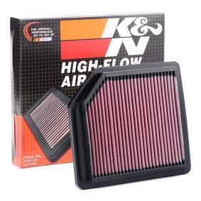 K&N Filters 33-2342 expert knowledge