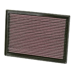 K&N Filters  33-2391 Luftfilter Länge: 352mm, Breite: 262mm, Höhe: 41mm