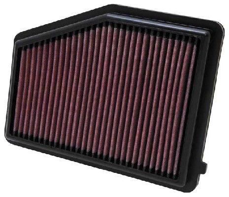 K&N Filters  33-2468 Air Filter Length: 238mm, Width: 184mm, Height: 27mm