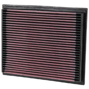 K&N Filters  33-2675 Въздушен филтър дължина: 252мм, ширина: 210мм, височина: 29мм
