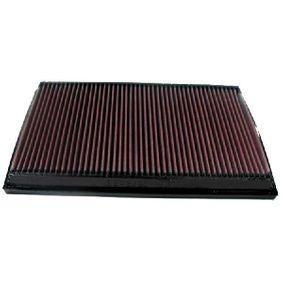 K&N Filters  33-2750 Въздушен филтър дължина: 335мм, ширина: 205мм, височина: 30мм