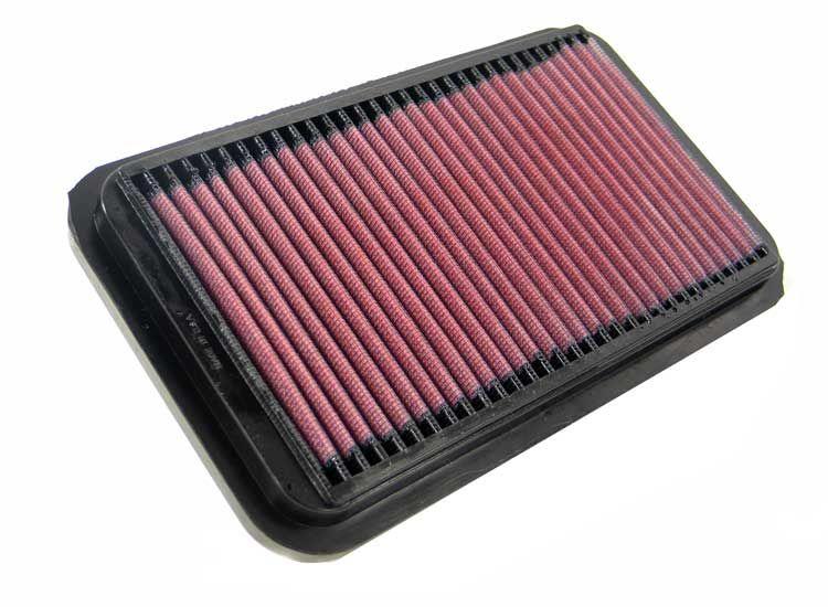 K&N Filters  33-2826 Légszűrő Hossz: 238mm, Szélesség: 140mm, Magasság: 24mm