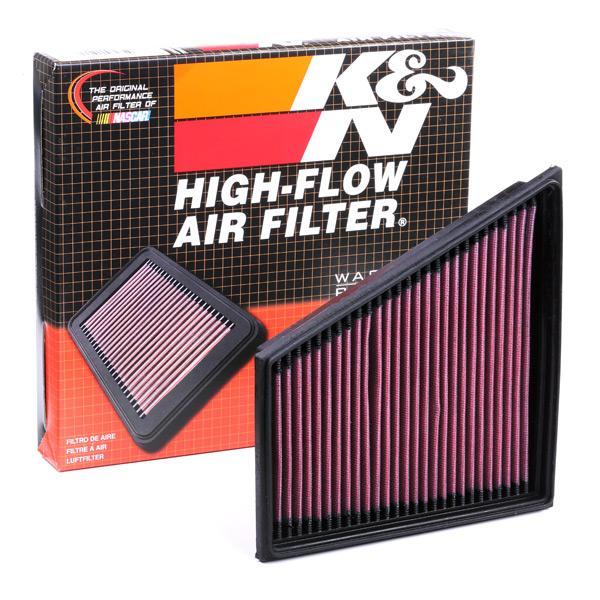 Filter K&N Filters 33-2830 Erfahrung