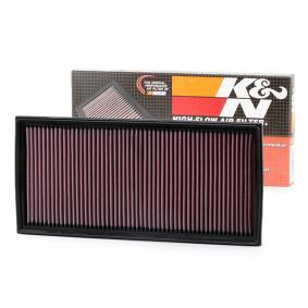 K&N Filters Luftfilter 33-2857 für AUDI Q7 (4L) 3.0 TDI ab Baujahr 11.2007, 240 PS