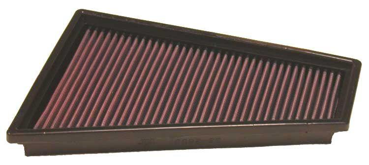 K&N Filters  33-2863 Luftfilter Länge: 279mm, Breite: 202mm, Höhe: 30mm, Länge: 279mm