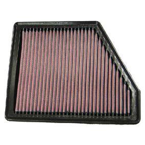 K&N Filters  33-2868 Légszűrő Hossz: 243mm, Szélesség: 194mm, Magasság: 25mm
