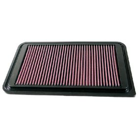 K&N Filters  33-2924 Air Filter Length: 311mm, Width: 202mm, Height: 22mm