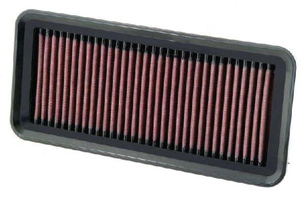 K&N Filters  33-2930 Filtro de aire Long.: 254mm, Ancho: 117mm, Altura: 25mm
