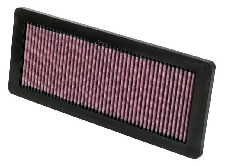 K&N Filters  33-2936 Air Filter Length: 362mm, Width: 146mm, Height: 22mm, Length: 362mm
