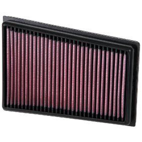 K&N Filters  33-2944 Luftfilter Länge: 230mm, Breite: 164mm, Höhe: 29mm