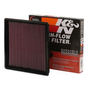 K&N Filters  33-2964 Légszűrő Hossz: 254mm, Szélesség: 248mm, Magasság: 41mm