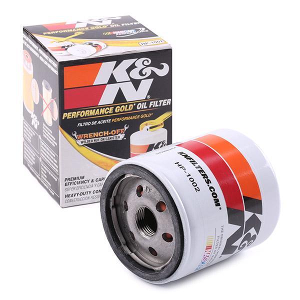 Ölfilter K&N Filters HP-1002 Erfahrung