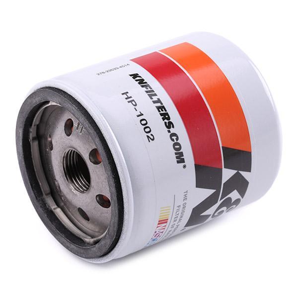 Ölfilter K&N Filters HP-1002 5901170343384