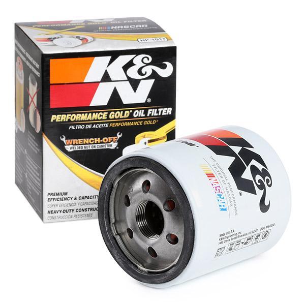 Ölfilter K&N Filters HP-1017 Erfahrung