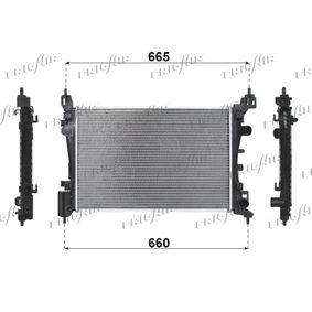 Kühler, Motorkühlung Netzmaße: 540 x 375 x 26 mm mit OEM-Nummer 1300 279