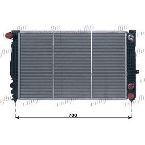 FRIGAIR Kühler, Motorkühlung 0110.3005 für AUDI A6 (4B2, C5) 2.4 ab Baujahr 07.1998, 136 PS