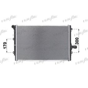 Kühler, Motorkühlung Netzmaße: 650 x 420 x 32 mm mit OEM-Nummer 1K0121251EH