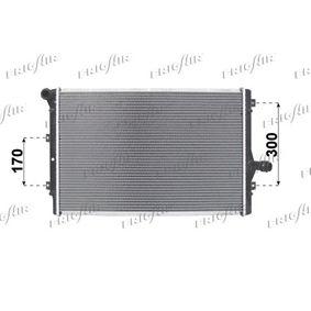 Kühler, Motorkühlung Netzmaße: 650 x 420 x 32 mm mit OEM-Nummer 1K0121251DD