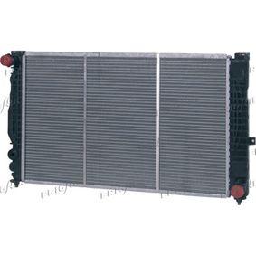 FRIGAIR Kühler, Motorkühlung 0110.3120 für AUDI A6 (4B2, C5) 2.4 ab Baujahr 07.1998, 136 PS