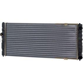 Ψυγείο, ψύξη κινητήρα Καθαρές διαστάσεις ψυγείου: 628 x 322 x 30 mm με OEM αριθμός 6K0121253A
