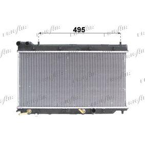 Радиатор, охлаждане на двигателя 0119.3023 Jazz 2 (GD_, GE3, GE2) 1.2 i-DSI (GD5, GE2) Г.П. 2007