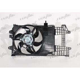 Fan, radiator 0504.1031 PUNTO (188) 1.2 16V 80 MY 2000