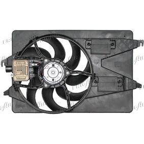 Lüfter, Motorkühlung 0505.2029 MONDEO 3 Kombi (BWY) 2.0 TDCi Bj 2001