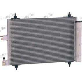 Kondensator, Klimaanlage Netzmaße: 520 x 362 x 16 mm, Kältemittel: R 134a mit OEM-Nummer 6455AT